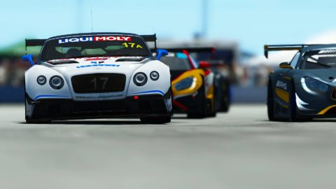 Yuri Kasdorp won the 6th race of Season 2 of the Atlantic-SkullBo GT3 at Sebring