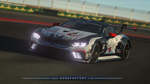 Atlantic Motorsport presents the new BMW M8 GTE Endurance S397