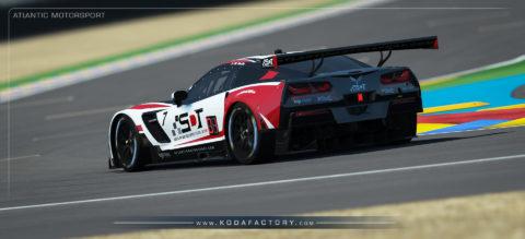 Atlantic Motorsport presents the new Corvette C7.R Endurance S397