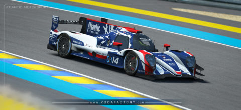 Atlantic Motorsport presents the new Oreca 07 LMP2 Endurance S397