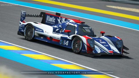 Atlantic Motorsport presents the new Oreca 07 LMP2 Endurance S397