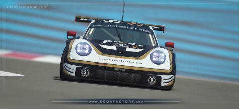 Atlantic Motorsport presents the new Porsche 911 RSR Endurance S397