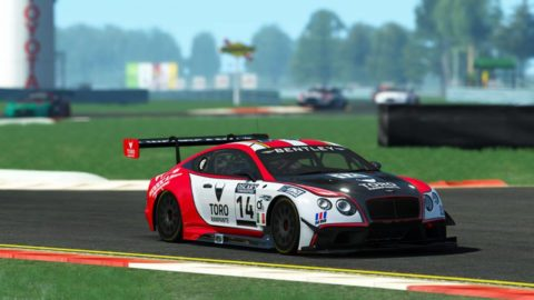 Danny ter Maten won the 3rd race of S3 of the Atlantic Motorsport GT3 Championship at Watkins Glen