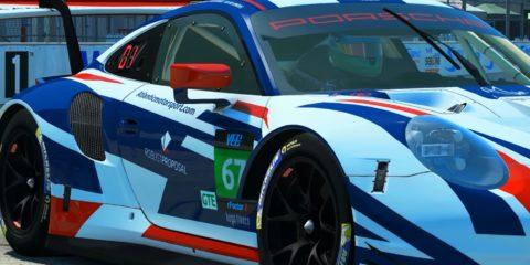 Atlantic Motorsport presents its new Robust Proposal Porsche 911 RSR GTE for the VEC World Championship