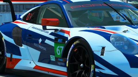 Atlantic Motorsport presents its new Robust Proposal Porsche 911 RSR GTE for the VEC World Championship
