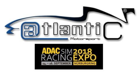 Atlantic Motorsport will be at ADAC SimRacing EXPO 2018