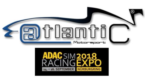 Atlantic Motorsport will be at ADAC SimRacing EXPO 2018