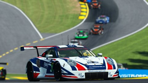 Atlantic Motorsport finished P10 at 1000 miles of Road Atlanta | VLMS