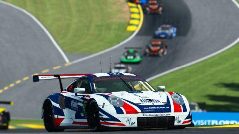 Atlantic Motorsport finished P10 at 1000 miles of Road Atlanta   VLMS