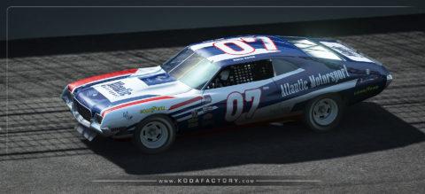 Atlantic Motorsport Ford Gran Torino NASCAR 1972