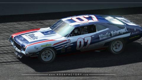 Atlantic Motorsport presents the new Ford Gran Torino NASCAR 1972