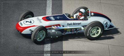 Atlantic Motorsport Vintage Roadster Indycar