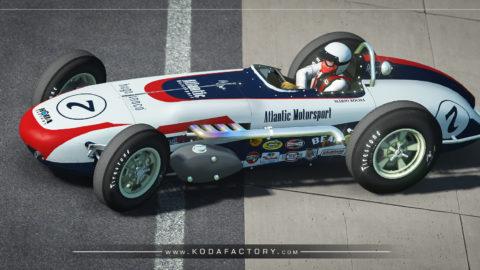 Atlantic Motorsport presents the new Vintage Roadster Indycar