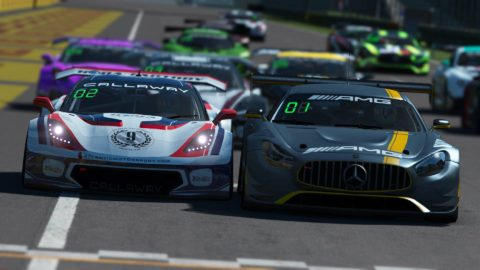 Danny ter Maten won the 3rd race of S4 of the Atlantic Motorsport GT3 Championship at Monza
