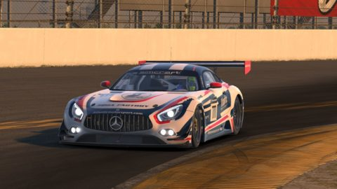 Luccas Silva and Eduardo Filgueira finished P14 on the Masters of Tracks – R3 Daytona