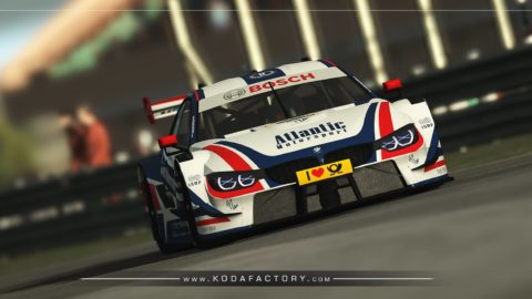 Atlantic Motorsport BMW DTM 2018