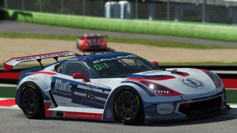 Marius Nicolae won the 5thd race of S4 of the Atlantic Motorsport GT3 Championship at Imola