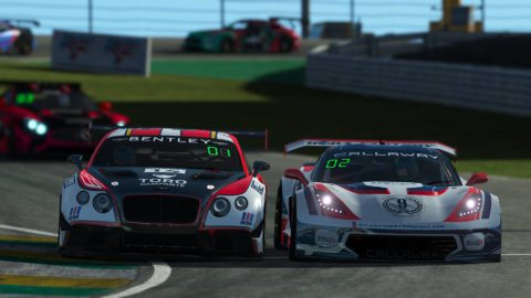 Danny Ter Maten won the 6thd race of S4 of the Atlantic Motorsport GT3 Championship at Interlagos