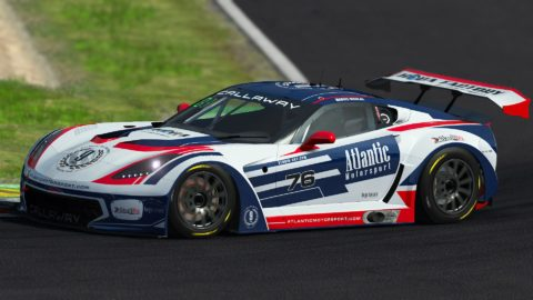 Marius Nicolae won the 7th race of S4 of the Atlantic Motorsport GT3 Championship on the RedBull Ring