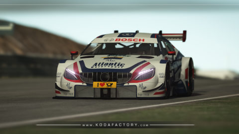 Atlantic Motorsport Mercedes DTM 2018