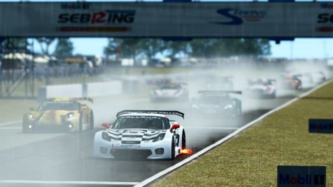 Marcel Offermans won the 8th and last race of S4 of the Atlantic Motorsport GT3 Championship at Sebring