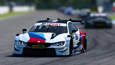Cliff Van de Vin won the first race at Hockenheim of Atlantic Motorsport DTM Series S1