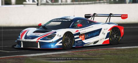 Atlantic Motorsport presents the new McLaren 720S GT3