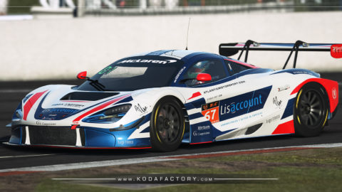 Atlantic Motorsport presents the new McLaren 720S GT3