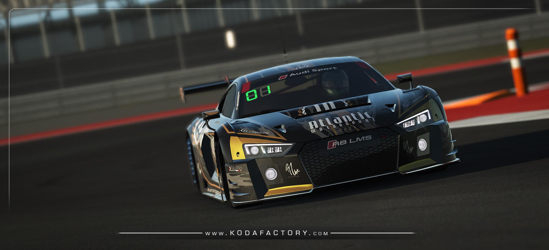 Atlantic Motorsport presents the new Audi R8 LMS GT3 - Atlantic