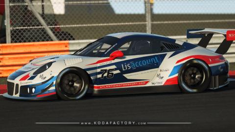 Atlantic Motorsport Porsche 911 GT3 R