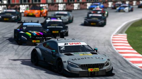 Bojan Bogdanov won Race 2 at Zolder of Atlantic Motorsport DTM Series S1