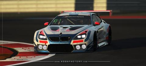 Atlantic Motorsport presents the new BMW M6 GT3
