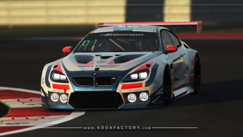 Atlantic Motorsport presents the new BMW M6 GT3