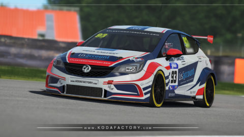 Atlantic Motorsport presents the new Vauxwall BTCC