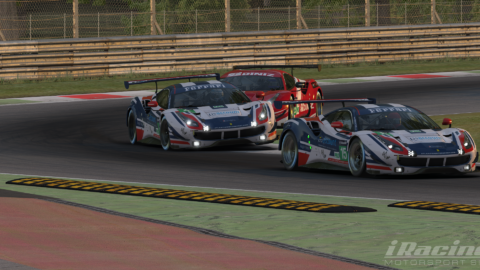 "Marcos Furriel and Luccas Bernardo finished P3 and P4 at ""Race for You"" league at Monza"