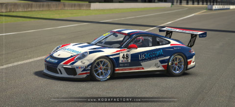 Lisaccount Porsche CUP GT3 ready for the Porsche Carrera CUP Brasil Super Final
