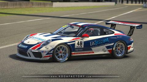 Lisaccount Porsche CUP GT3 ready for the Porsche Carrera CUP Brasil Super Final