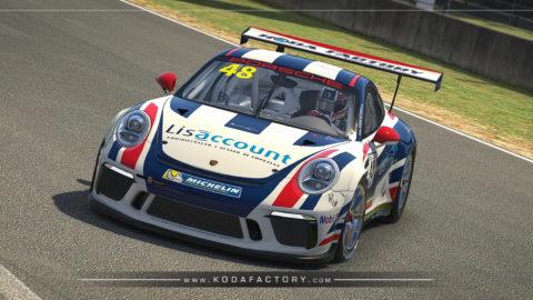 Atlantic Motorsport presents the new Lisaccount Porsche 911 GT3 CUP (991)