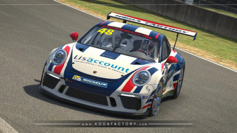 Atlantic Motorsport presents the new Lisaccount Porsche 911 GT3 CUP (991)
