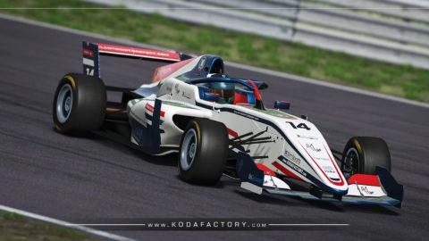 Atlantic Motorsport presents the new Lisaccount Tatuus F3 T318