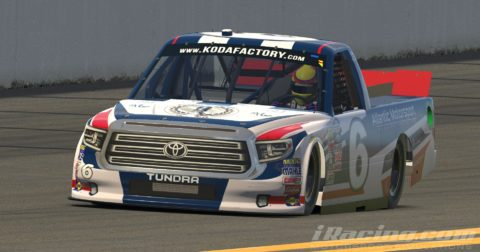 Mario Rocha finished P9 on the NASCAR Truck Series at Daytona International Speedway