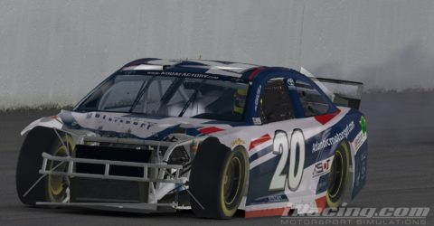 Mario Rocha Finished P17 After Being Involved on a Big One at Daytona