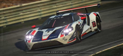 Atlantic Motorsport presents the new Ford GT GTE