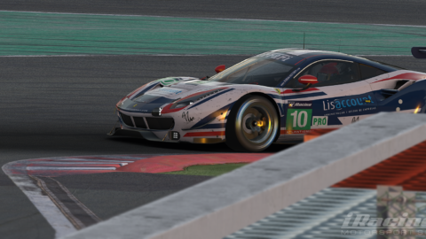 Marcos Furriel and Luccas Bernardo finished 3rd place at SPA 6h (Official iracing Series)