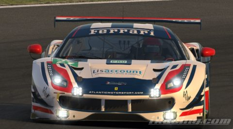"""Marcos Furriel won the Suzuka round at """"Race for You"""" league"""