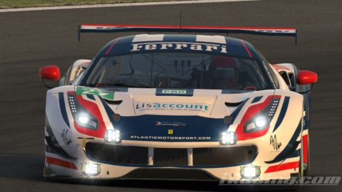 "Marcos Furriel won the Suzuka round at ""Race for You"" league"