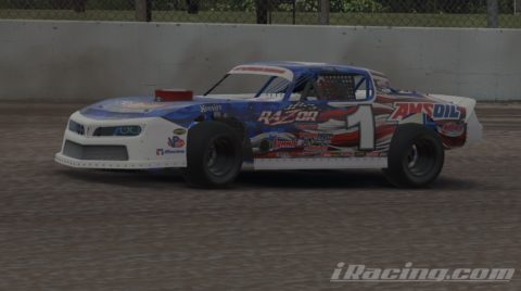 Mario Rocha finish P5 on the DirtCar Street Stock Series at USA International Speedway