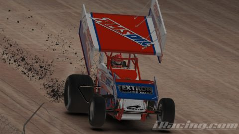 Mario Rocha finish P9 on the DirtCar 305 Sprint Car Series at USA International Speedway