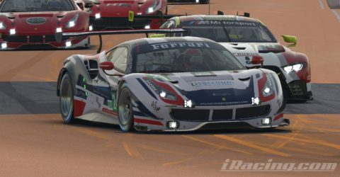 "Marcos Furriel finished P3 at Mid-Ohio on the ""Race for You"" league"