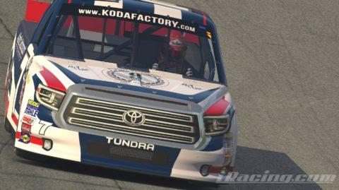 Mario Rocha finish P8 on the NASCAR GANDER Outdoors Truck Series at Las Vegas Speedway